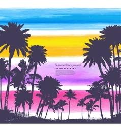 vintage banners hawaiian island vector image