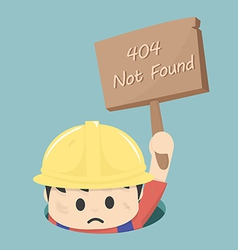 404 not found vector image