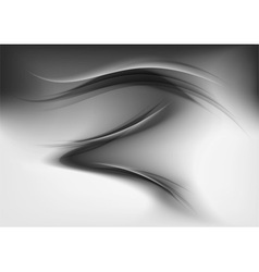 abstract smoke grey vector image