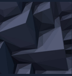 Background with abstract black cubes vector