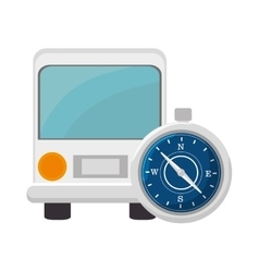 Bus and compass vector
