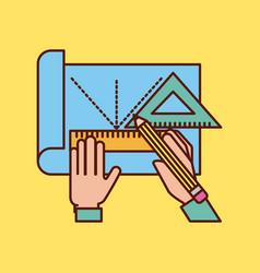 Geometric instruments school vector