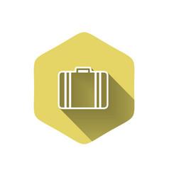 Luggage symbol vector