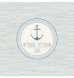 Navy pattern light vector image
