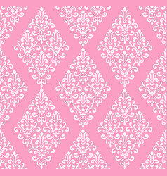 wallpaper damask style vector image