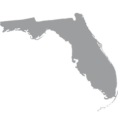 US state of Florida vector image vector image