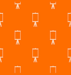 easel pattern seamless vector image