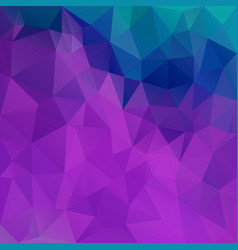 Abstract irregular polygon background purple blue vector