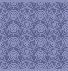 blue abstract overlap circle pattern seamless vector image