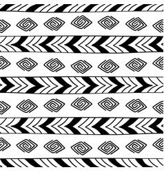 ethnic seamless texture vector image