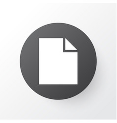 File icon symbol premium quality isolated folder vector