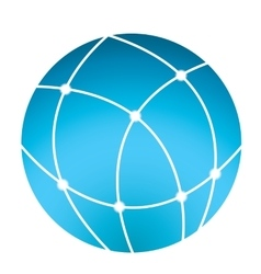 globe icon - business logo vector image