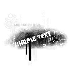 Grunge Banner Design vector