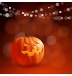 halloween or dia de los muertos greeting day vector image