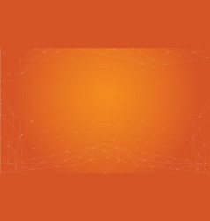 Orange abstract background style collection vector