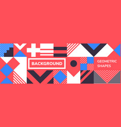 simple banner vector image