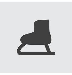 Skates icon vector image