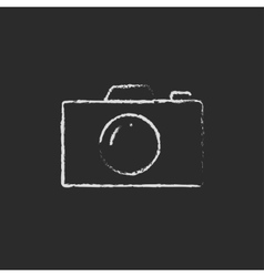Camera drawn in vector image