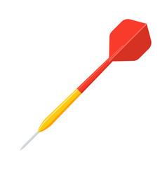 darts icon vector image
