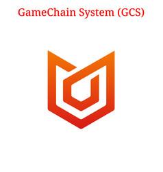 Gamechain system gcs logo vector