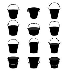 garden pail vector image
