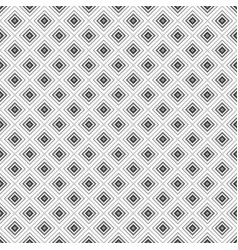 Grey rhombus geometric seamless pattern vector