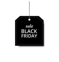 label black friday orange holiday design sale vector image