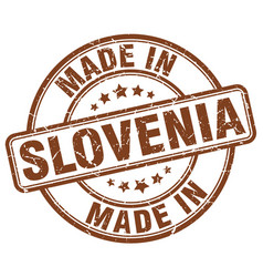 Made in slovenia vector