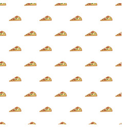 Pizza slice pattern vector