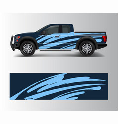 Racing background for vinyl wrap and decal vector