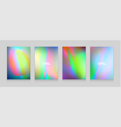 Stock color of opal vector
