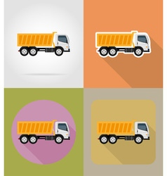 Transport flat icons 22 vector