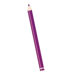 color pencil write isolated icon vector image