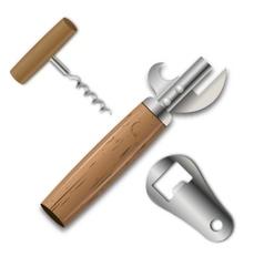Set openers vector image vector image