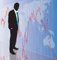 stock trader vector image vector image