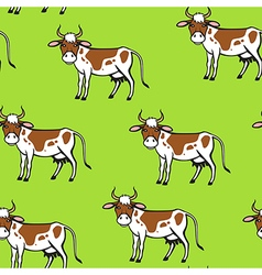 cow spot pattern vector image