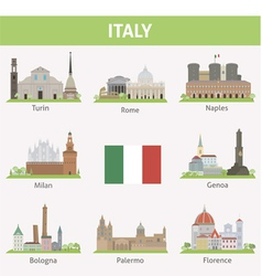 Italy vector image vector image