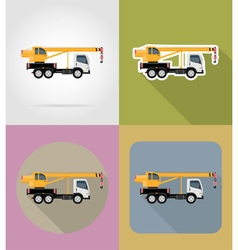 transport flat icons 23 vector image vector image