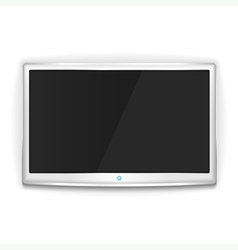 White TV vector image vector image
