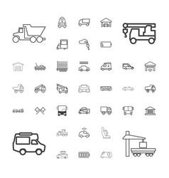 37 auto icons vector