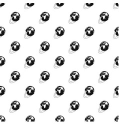 Around the world pattern seamless vector