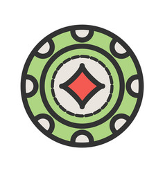 Diamond chip vector