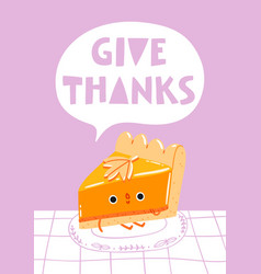 give thanks vector image