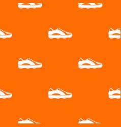 Golf shoe pattern seamless vector