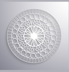 ornate ethnic paper styled vector image