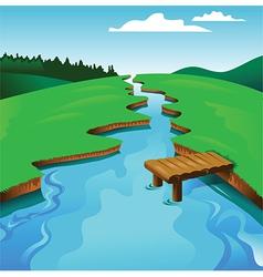 River vector