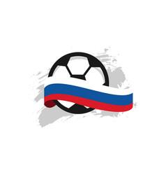 Russia football club template design vector