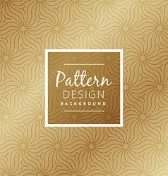Beautiful premium style pattern vector