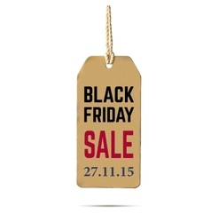Black Friday sale Realistic vector image