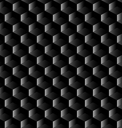 Black graphite mesh seamless pattern vector